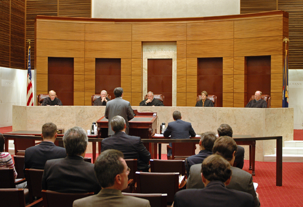 courtroom for legal appeals